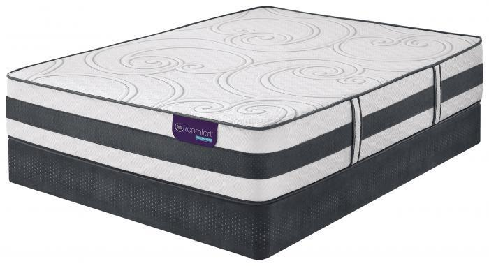 Queen iComfort Hybrid Philospher Plush set  (Mattress & Box),Mattresses      Serta/Simmons