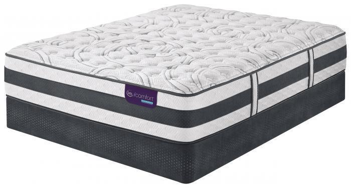 Queen iComfort Hybrid Applause Firm set  (Mattress & Boxspring),Mattresses      Serta/Simmons