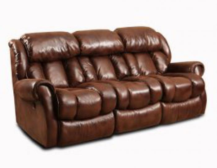 Espresso Power Reclining Sofa,HomeStretch