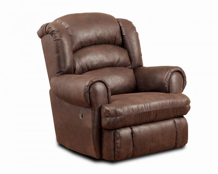 Sable Power Big Man Recliner,HomeStretch
