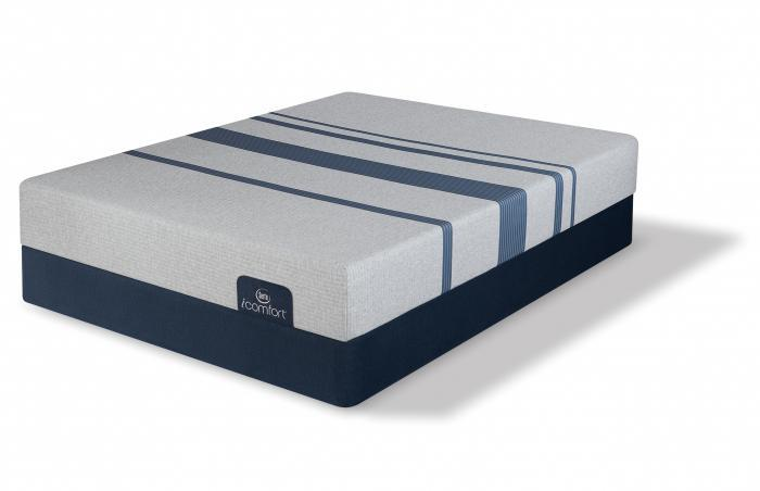 Twin iComfort Blue 100 Gentle Firm set  (Mattress & Boxspring),Mattresses      Serta/Simmons