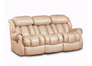 Taupe Double Reclining Sofa