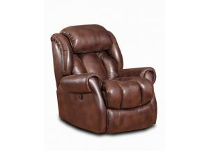 Espresso Power Rocker Recliner