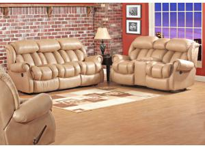 2pc Power Reclining Sofa & Reclining Loveseat