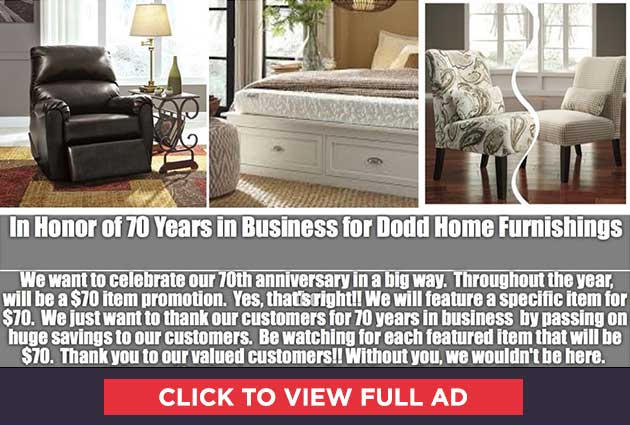 70 Years in Business