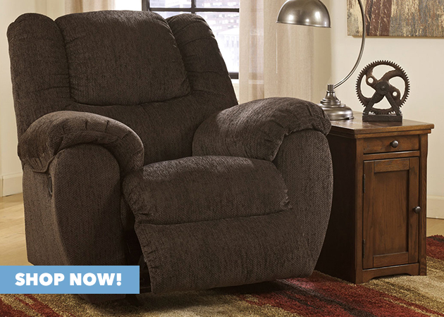 Yeldon Bark Rocker Recliner