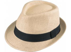 Fedora Straw- Natural