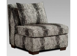 Fat Daddy s Furniture 6350 Shimmer Pewter Armless Chair