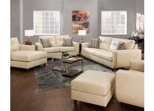 Jamestown Champagne Sofa