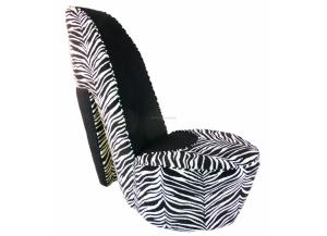 Large Zebra Shoe Chair