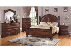 Isabella (Queen Bed, Dresser, Mirror, Night Stand)