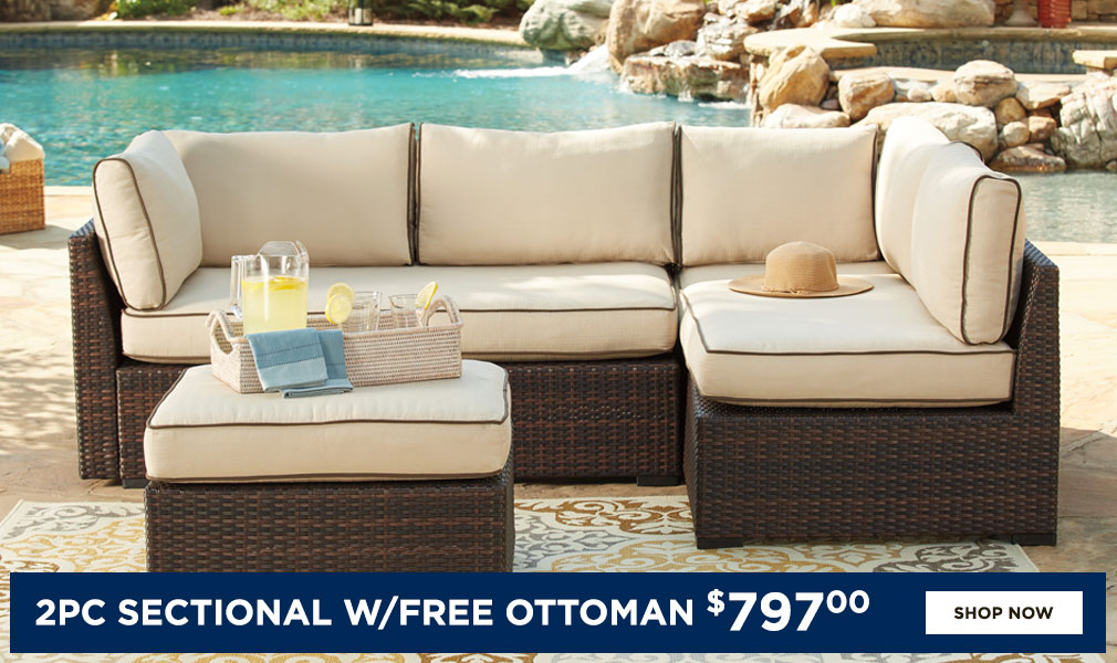 2 PC Outdoor Sectional