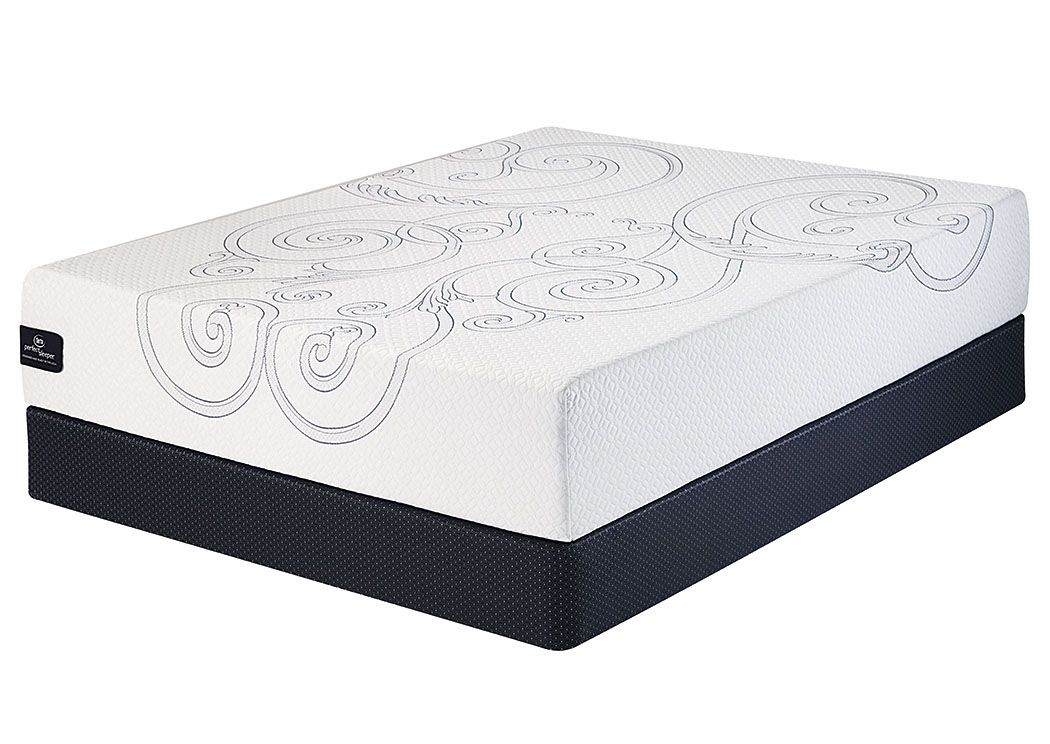 Apex Furniture Heffernan 12 Memory Foam King Mattress W Foundation