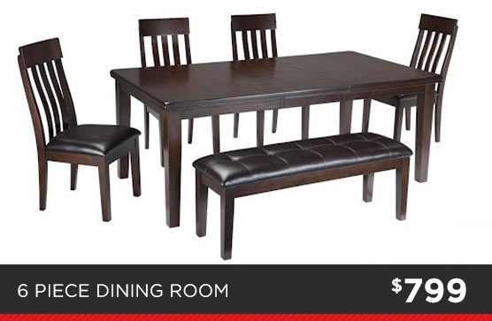 6 Piece Dining Room