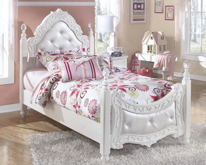 Exquisite Twin Poster Bed,Store Selections