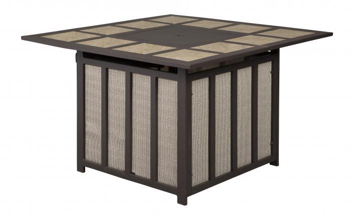 Wandon Square Fire Pit Table,Ashley Outdoor