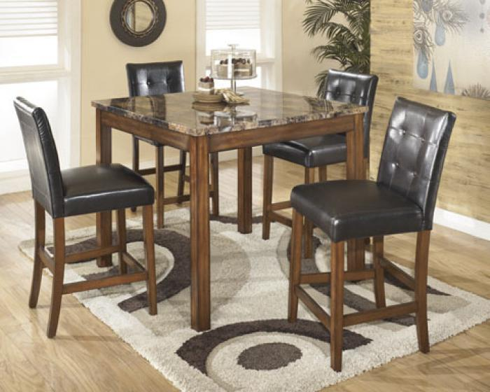 Theo Square Table Set - 5pc,Store Selections