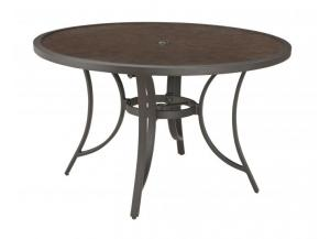Carmadelia Round Dining Table w/UMB OPT