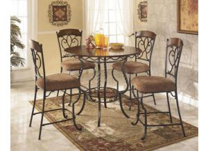 Nola Counter Table Set - 5pc