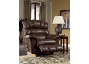 Crandell Leather Reclina-Rocker Recliner (010433 LE962478)