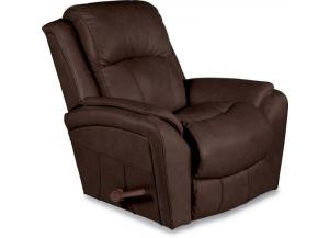 Barrett Leather Reclina-Rocker Recliner (010740 LB127078)