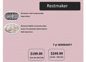 Restmaker Firm Twin Set