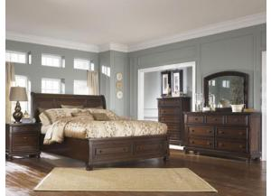 Porter QN Storage Bed, Dresser & Mirror and get a FREE Night Stand