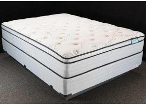 Denali Euro Top Twin Size Mattress Set