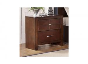 Kensington Burnished Cherry Nightstand