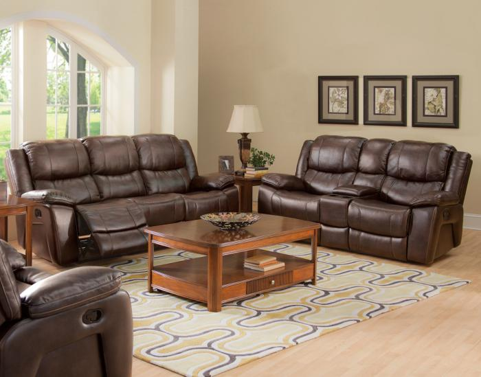Kenwood Reclining Sofa and Loveseat,New Classics
