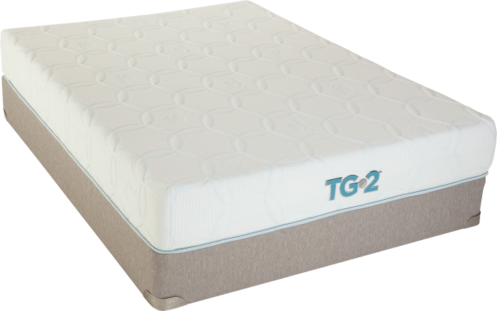Renew Tempa-Gel Queen Mattress w/ Foundation with $200 in FREE Furniture,Restonic