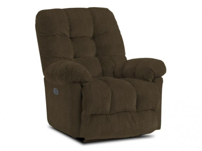 EVERLAST Cocoa Power Recliner,Best Home Furnishings