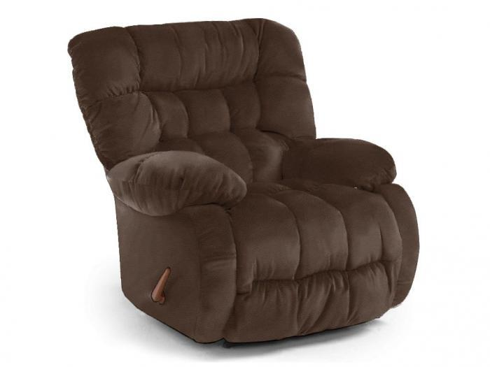 Plusher Leather Recliner,Best Home Furnishings