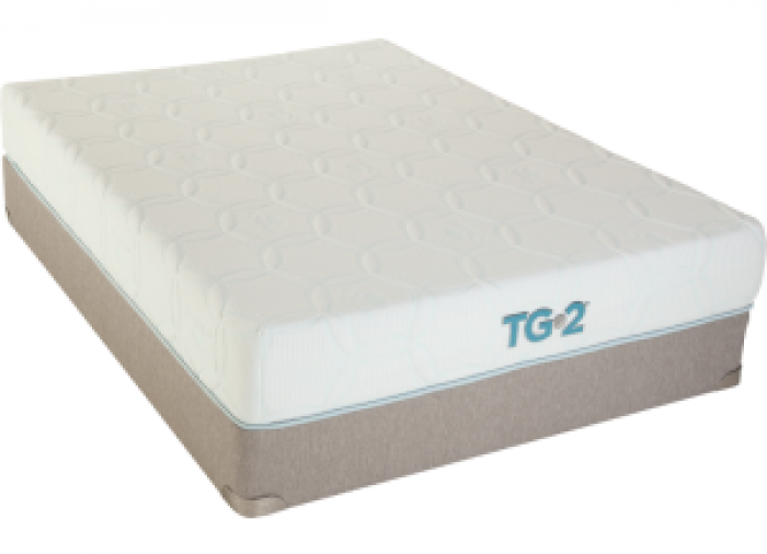 Renew Tempa-Gel Queen Mattress with Foundation Plus Platinum Bedding Package,Restonic