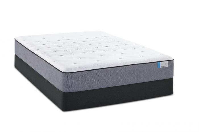 Everham Firm Full Mattress w/  Foundation Plus Free Sheet Set,Sealy