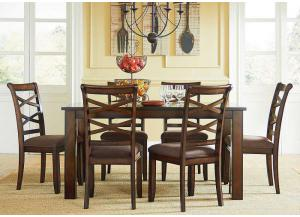 Redondo Cherry 7 Pc Dining Set