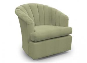 Elaine Grey Swivel Chair
