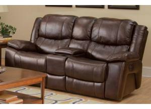 Kenwood Console Reclining Loveseat