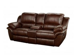 Cabo Brown Reclining Loveseat