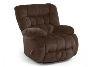 Plusher Leather Recliner
