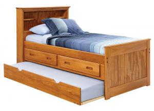 Heartland Captain's Bed with Storage  *Mattresses Sold Separately*
