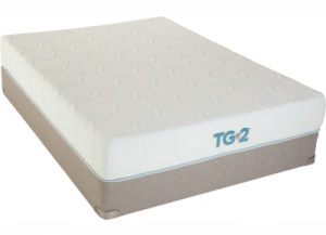 Renew Tempa-Gel Queen Mattress with Foundation Plus Platinum Bedding Package