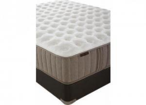 Oak Terrace Firm Queen Mattress w/ Foundation plus Platinum Bedding Package