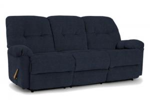 ELLISPORT Blue Regatta Reclining Sofa