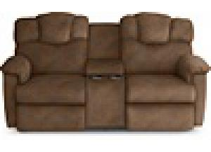 Lancer Elk Reclining Console Loveseat