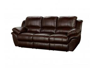 Cabo Brown Double Reclining Sofa
