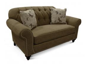 Caprice Bronze Loveseat
