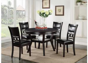 Gia 5 Pc Round Dining Set