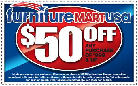 Coupon for Furniture Mart USA