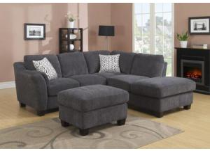 Clayton II - Chaise avail. right or left side (ottoman optional)